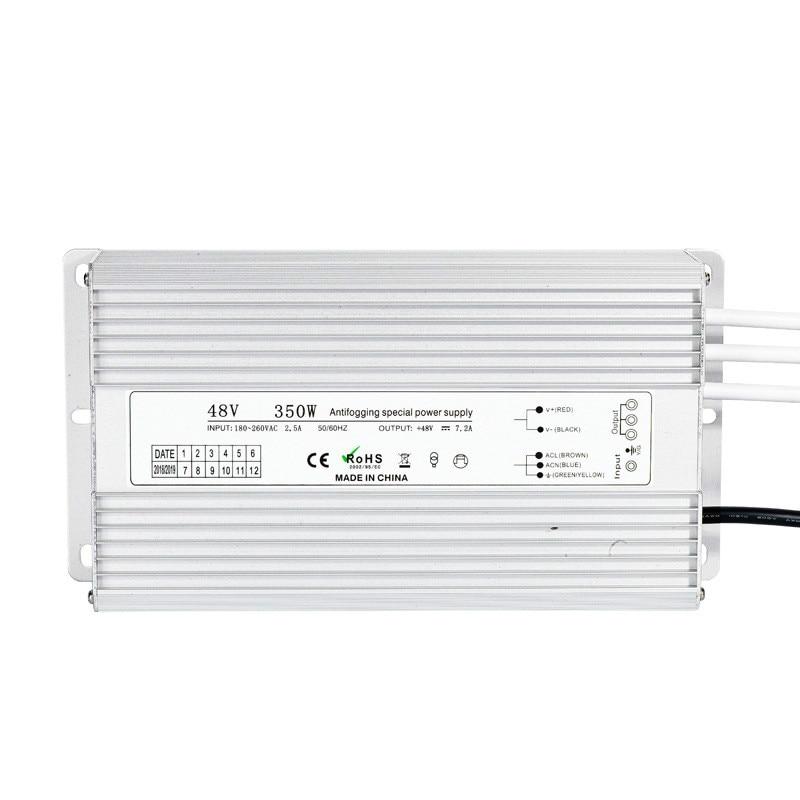 تيار مستمر 48 فولت 350 واط مقاوم للماء IP67 LED تنمو ضوء مرطب صناعي 48VDC تحويل التيار الكهربائي