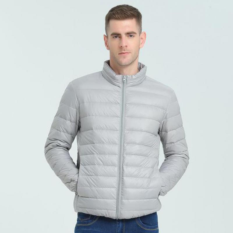 Мужская зимняя ветровка, яркая и тонкая короткая теплая куртка, брендовая одежда, пуховая куртка, верхняя одежда большого размера, 2021