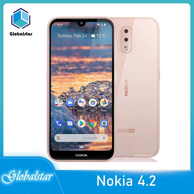Перейти на Алиэкспресс и купить Nokia 4,2 Восстановленный Оригинальный Nokia 4,2 13MP камера GPS WIFI FM радио Bluetooth один год гарантии Бесплатная доставка