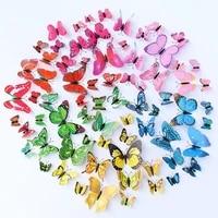 Autocollants muraux papillons 3D amovibles  12 pieces  decoration pour chambre denfant