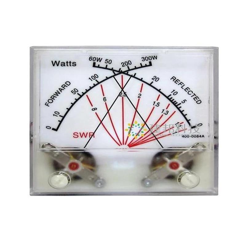 MFJ الدائمة موجة متر رئيس محطة راديو السلطة متر الارسال مع الخلفية SWR واط متر