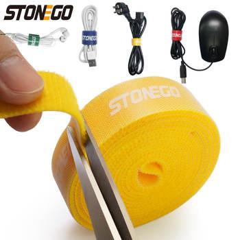USB-устройство для сматывания кабеля STONEGO, органайзер для кабелей, держатель для проводов мыши, наушников, держатель для HDMI-шнура, бесплатное управление телефонным обручем, лента для защиты
