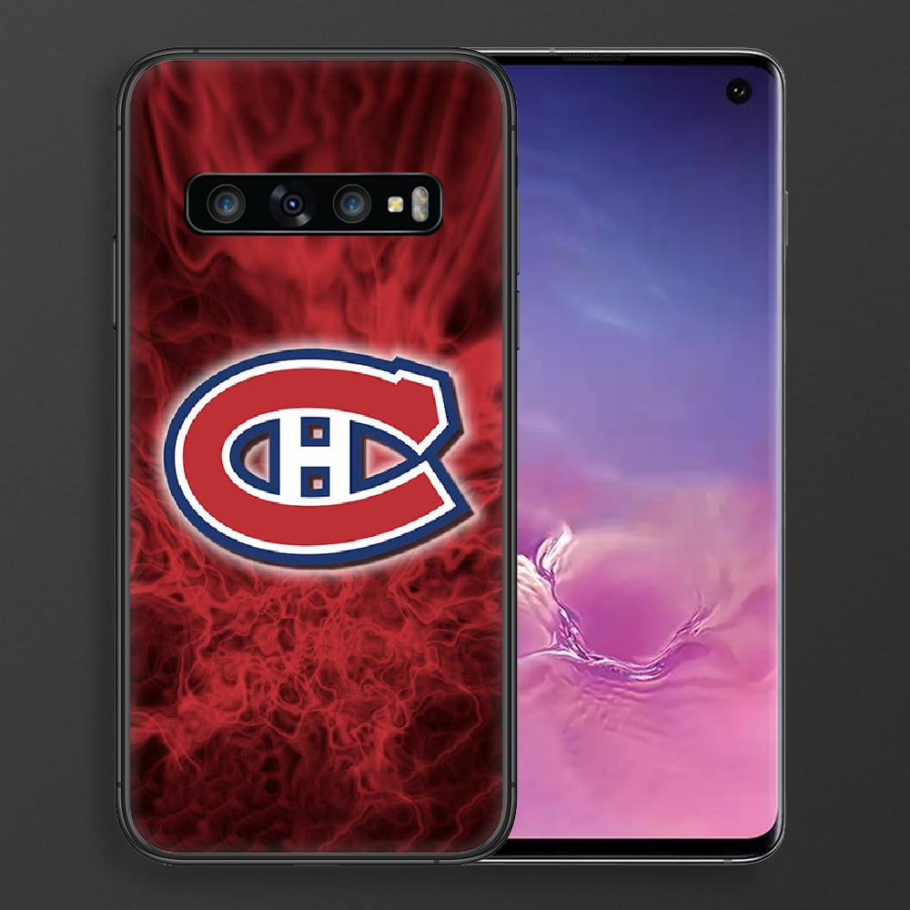 Montreal Ice Hockey Canadien Phone Case For Samsung Galaxy Note S 8 9 10 20 Plus E Lite Uitra black Hoesjes Tpu Etui 3D  - buy with discount