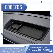For Volkswagen VW Atlas Teramont 2017 2018 2019 2020 Dashboard Storage Box Organizer Holder Tray For Volkswagen Atlas Teramont