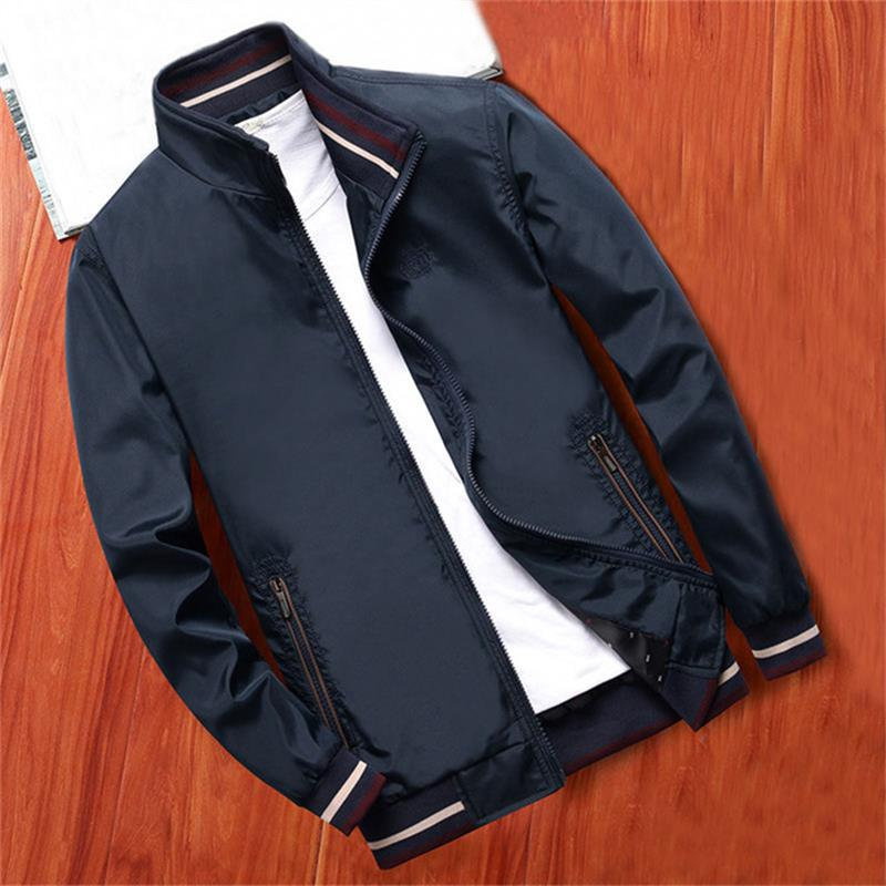 Новинка 2021, мужские деловые куртки, модная одежда, мужские куртки и пальто, уличная одежда, повседневные куртки, куртки-бомберы