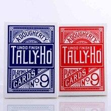 1 cubierta Tally-Ho naipes cubierta mágica trucos mágicos
