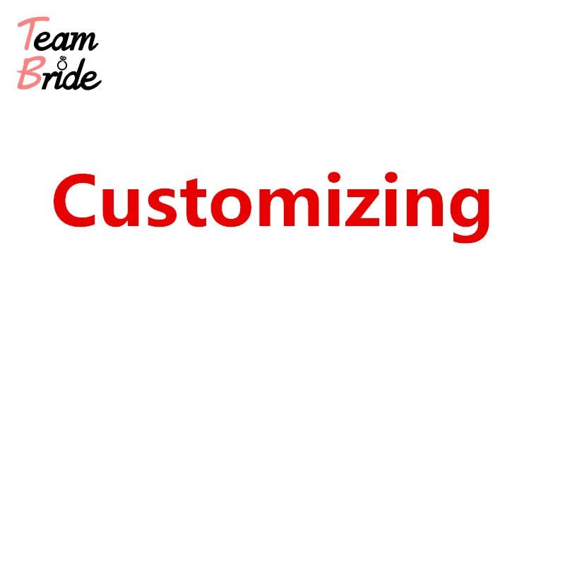 Team Braut Customizing EXTRA GEBÜHR