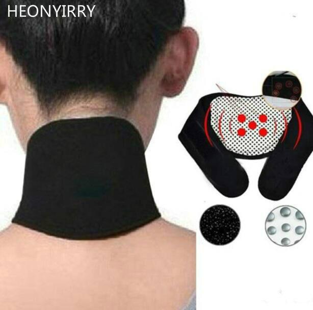 Turmalin Magnetischen Therapie Nacken-massagegerät Halswirbel Schutz Spontane Heizung Gürtel Massagem Körper Massager