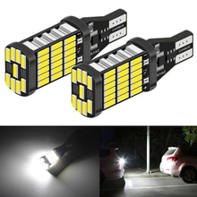 Ampoule inversée pour BMW E46 E39 E90 E60 E36 F30 F10 E30 E34 X5 E53 M M3 M4 Z4 Z3   2 pièces Canbus led 921 W16W