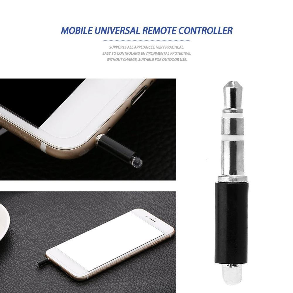 Универсальный мобильный телефон, умный инфракрасный ИК-пульт дистанционного управления, портативный мини-размер ТВ STB DVD Контроль за мобильный телефон-3