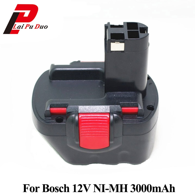 Para Bosch 12v 3000mah Ni Mh Reemplazo Recargable Taladro Inalámbrico Batería Bat043 Bat046 Bat049 Bat120 Bat139 Psr 12v 3 0ah Battery Replacement Battery Drill Batteriesbattery Battery Battery Aliexpress