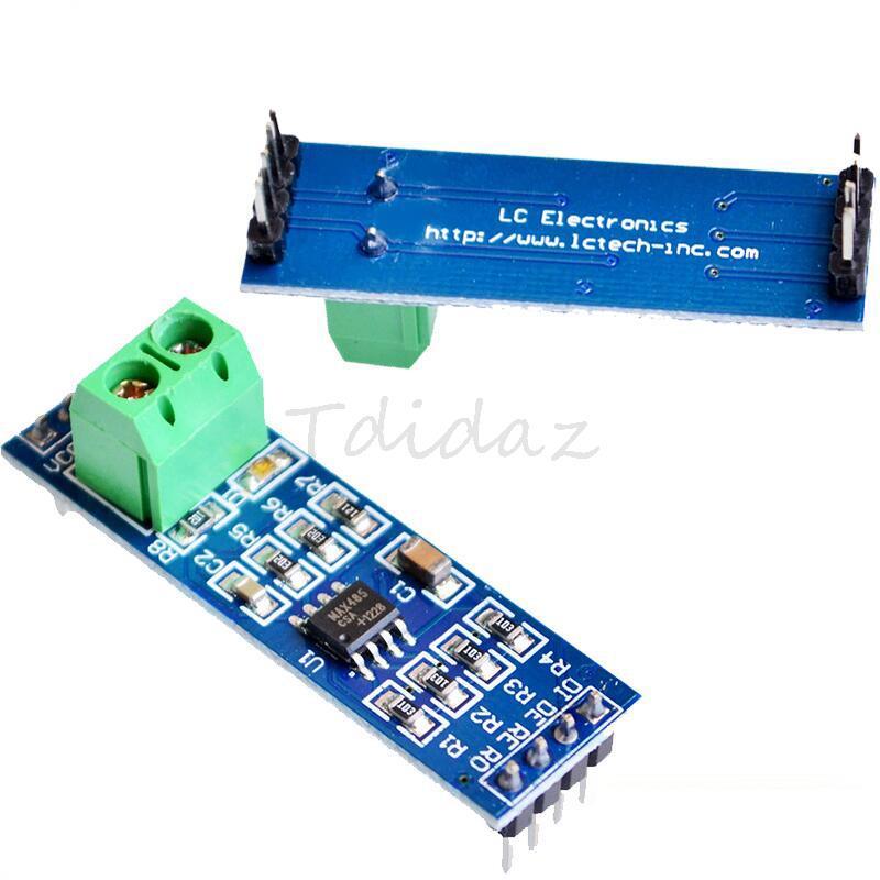 5PCS MAX485 Module RS-485 TTL Turn To RS485 MAX485CSA Converter Module For Arduino Microcontroller MCU Development Accessories