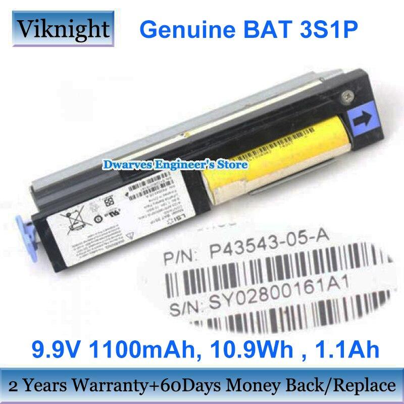 حقيقية الخفافيش 3S1P PA3543-05-A 9.9V 10.9Wh بطارية SY02800146A1 ل IBM نت E5624 نموذج E5460 تخزين QS2400 بطارية ليثيوم أيون
