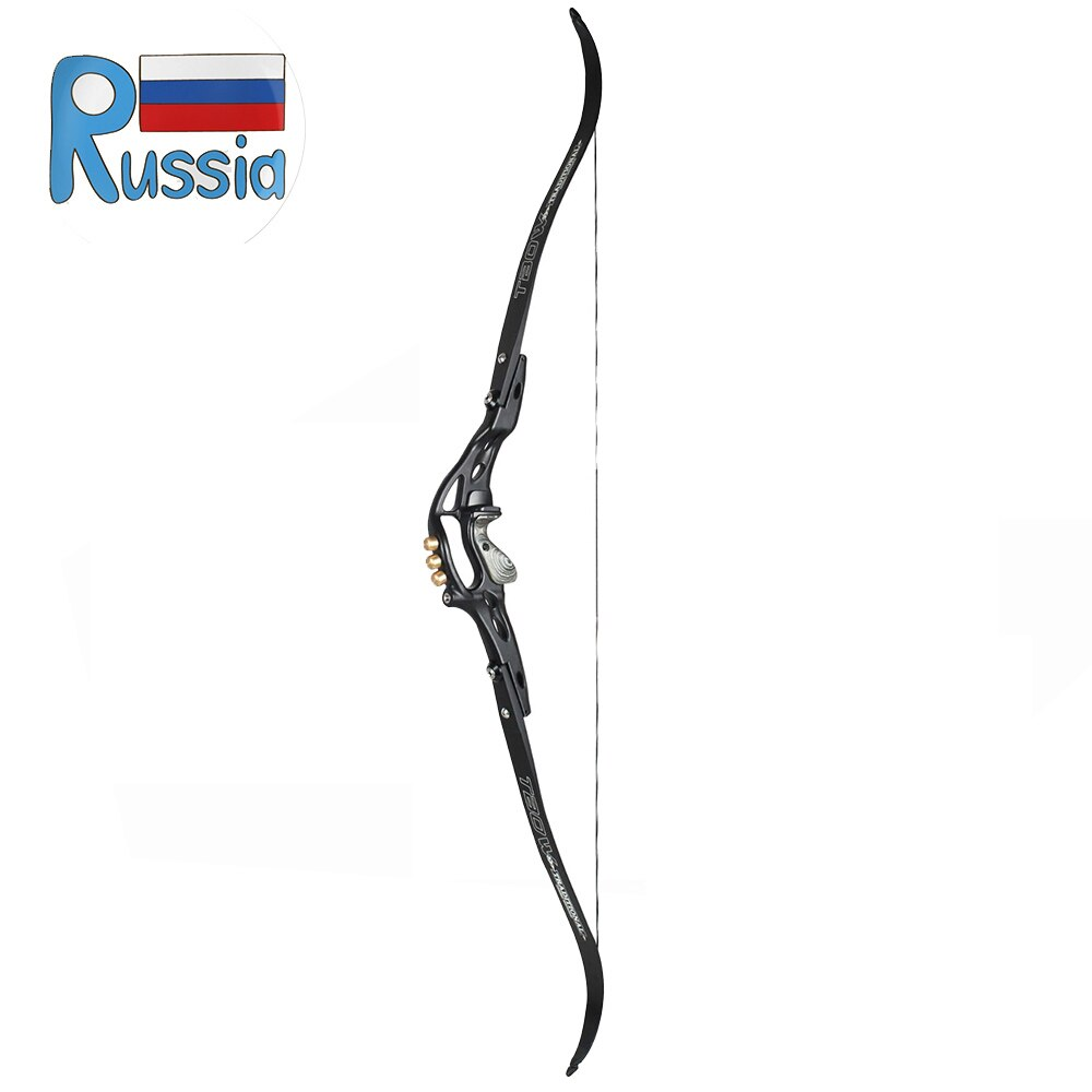 Junxing 59 Inches 19Inches Riser Recurve Bow 30-60 LBS ILF Interface for Right Hand User Archery Hunting Shooting