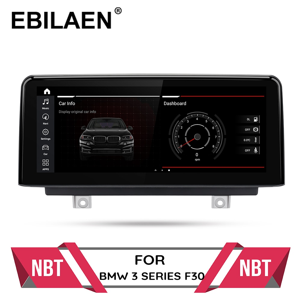 Android 10.0 Car multimedia Player for BMW F30 F20 F31 F22 F21 F32 F33 F36 Original NBT System Autoradio GPS Navigation IPS 4G