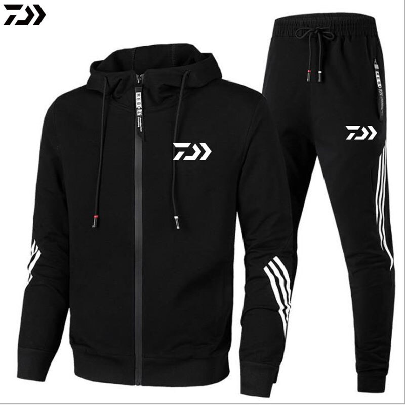 AliExpress - New daiwa jacket and pants high quality outdoor sport men's breathable cotton spring autumn fishing clothes set dawa shirt