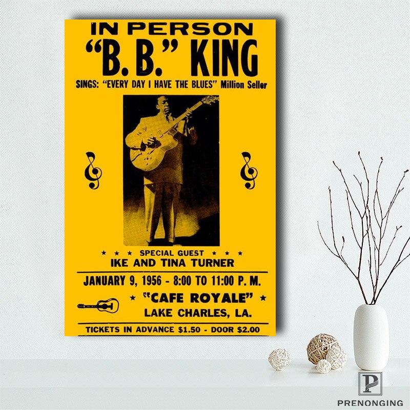 Carteles de impresión bb_king (3), lienzo, pared, imágenes artísticas para decoración para sala de estar #19-04-18-94