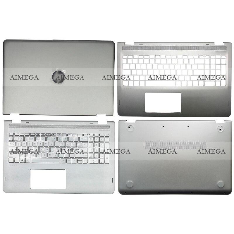 Novedad para HP ENVY X360 M6-AQ M6-AQ005DX M6-AR004DX 15-AQ 15T-AQ Laptop LCD contraportada/reposamanos/cubierta inferior 856799-001 857283-001