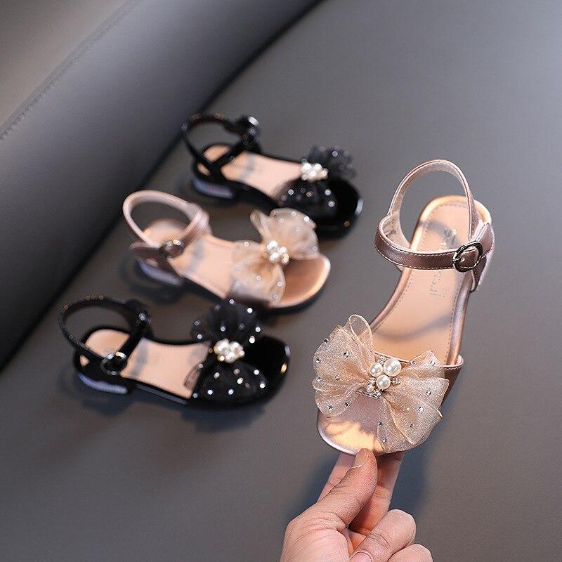 جديد أحذية الأطفال الأميرة الفتيات الصنادل الصيف الأداء عالية الكعب طالب طفل رضيع الاطفال المفتوحة تو 041