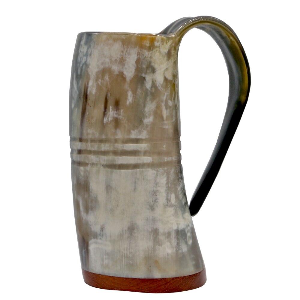 أكواب فايكنغ القرن-اليدوية الرئيسية شرب حقيقي القرن القدح