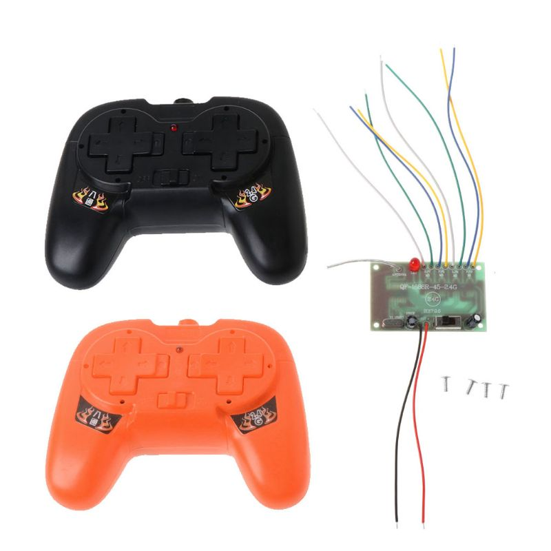 2.4G 8CH Remote Control with Receiver Board DIY Toy for Boat Tank Car 4-6V Accessories enlarge
