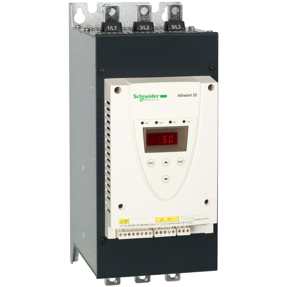 Bomba de ventilador de tres fase Arrancador Suave Motor asíncrono de Control de tensión de 220V voltaje de la fuente de alimentación 230V (37kw)/400-440V(75kW)