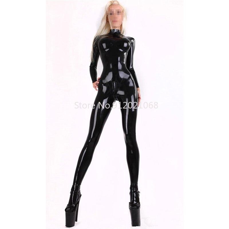 Латексный костюм кошки ручной работы, резиновый боди, 3D грудь, с задней молнией, на заказ, костюмы для косплея Zentai для женщин