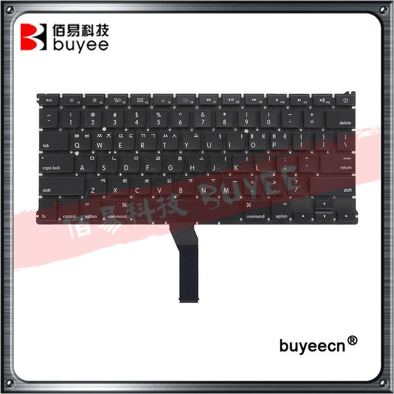 Clavier coréen de 13 pouces, pour Macbook Air portable A1369 A1466, de 2011 à 2015, clavier coréen, pour Macbook Air A1369 MD231 MD232 MC503 MC504 KR
