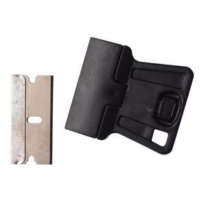 Image 2 - Мини Ручной скребок для бритвы с лезвиями из углеродистой стали, 5 шт., старая пленка, стекло, нож для удаления клея, мобильный телефон средство очистки для экрана планшета 5E18