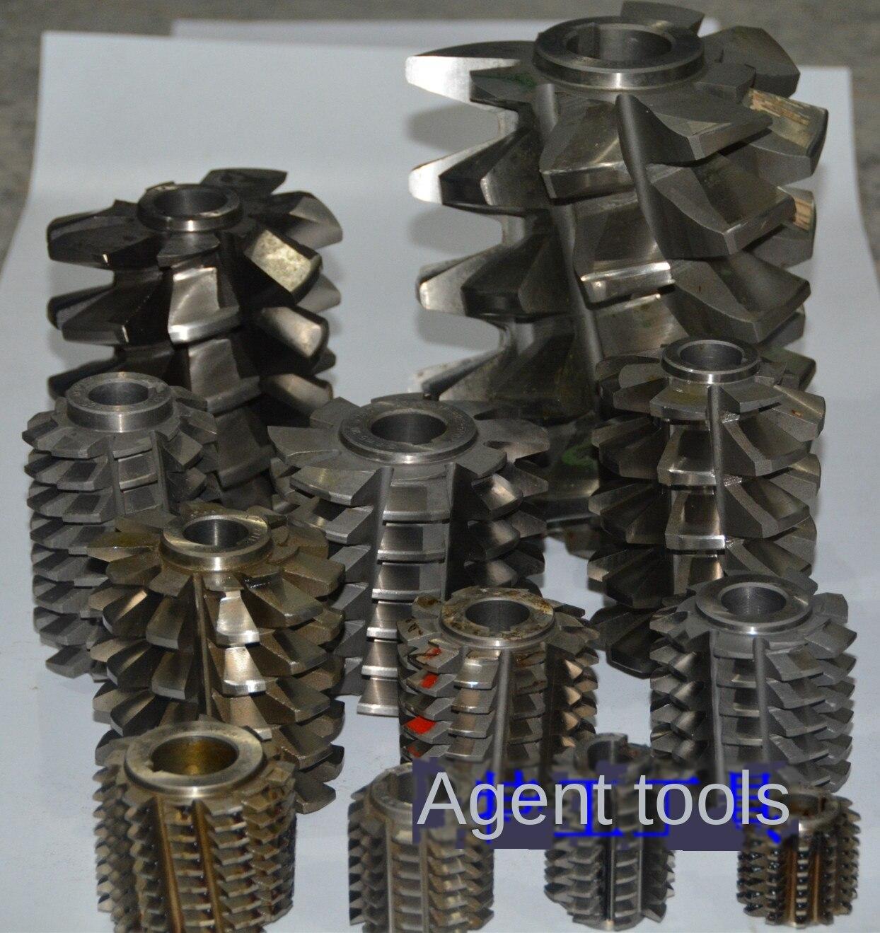 Tipo furo placa de engrenagem sem fim m1.5-m20 cortador de engrenagem especificação diâmetro exterior completo preço diferente