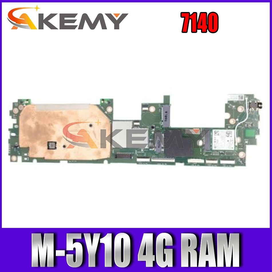 Akemy العلامة التجارية الجديدة الجدول اللوحة الأم لديل المكان 11 برو 7140 م-5Y10 4G ROM CN-00853X 0853X اللوحة الرئيسية