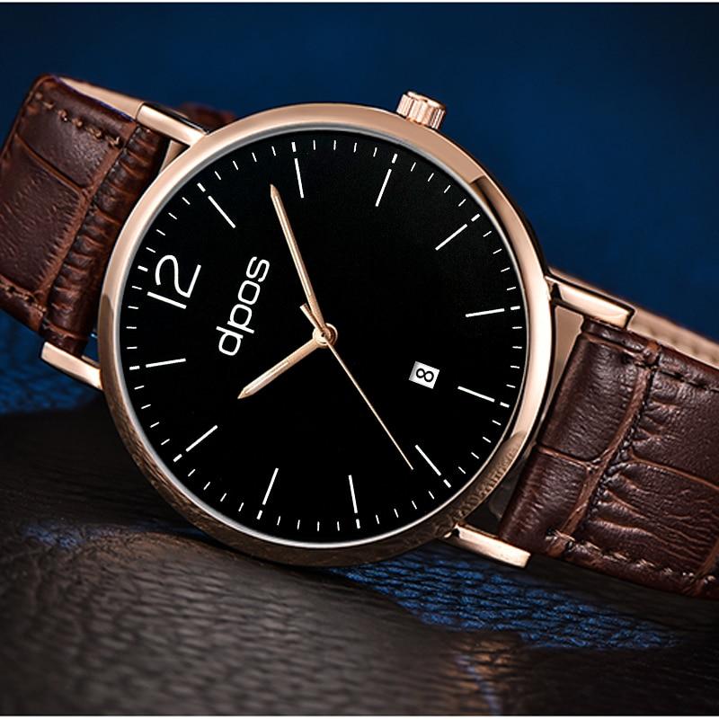 whatch 2019 Men Business Watches Leather Band Fashion Watch Quartz Men's Wristwatch Male Clock reloj hombre relogio masculino
