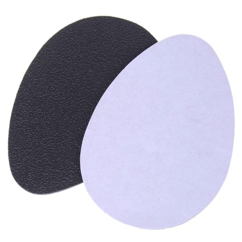 2 pçs saltos altos adesivo anti-deslizamento sapatos auto-adesivo esteira de salto alto único protetor almofadas de borracha almofada antiderrapante palmilha antepé