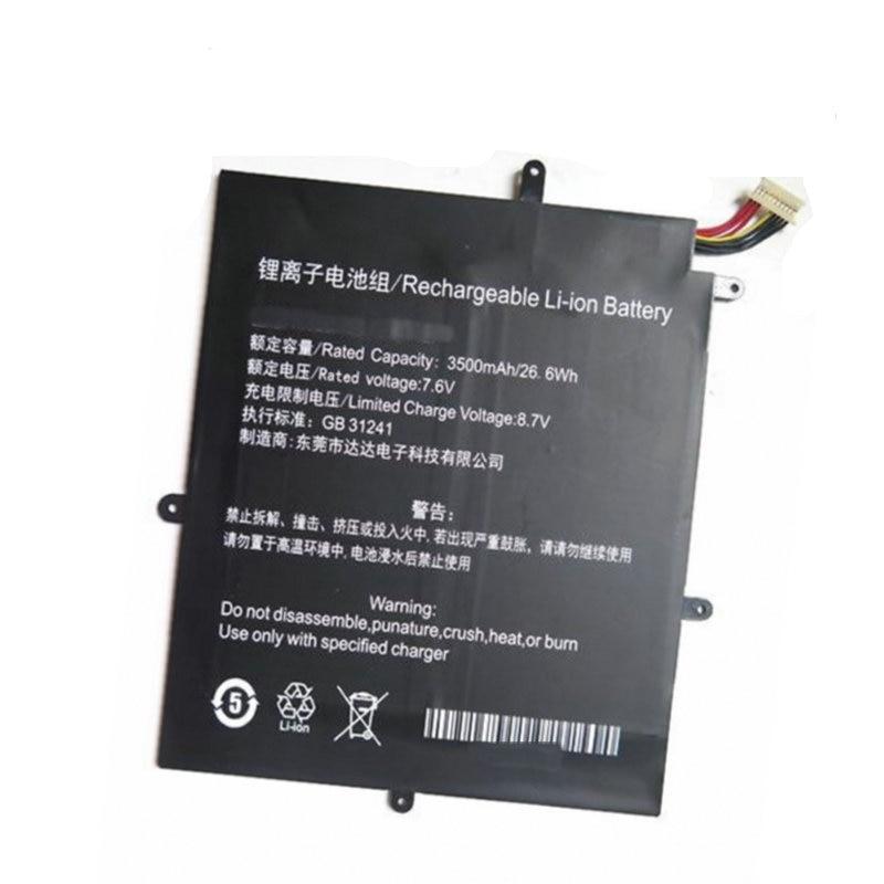 original 15 2v 76wh original battery for tdw5p series laptop Stonering 7.6V 3500mAh  30137162P Original Laptop Battery NV-2778130-2S for TECLAST F5 Laptop PC