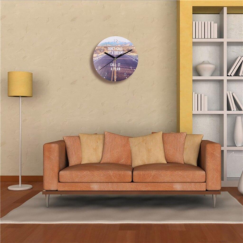 Reloj De Pared creativo De madera MDF, Reloj De Pared De granja, Relojes De Pared grandes decorativos, Reloj De Pared Digital para decoración del hogar