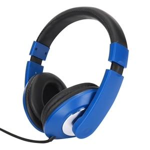 Voice Headsets, Wired Gaming Headsets, Foldable 3.5mm AUX Headsets with Mic Subwoofer, for Computer Phones MP3, MP4