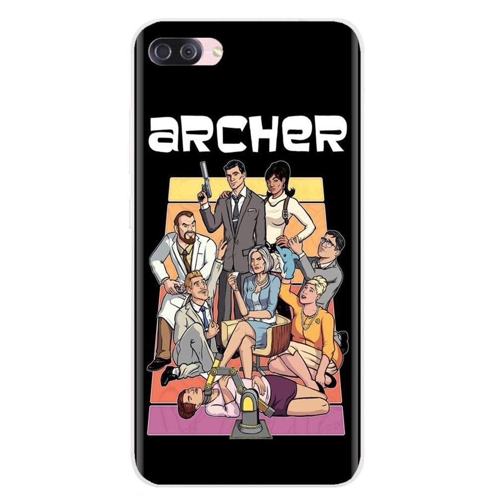 Для samsung Galaxy S6 Edge S10 Lite Plus Core Grand Prime Alpha J1 mini вдохновляющий силиконовый чехол для телефона Archer Tv show