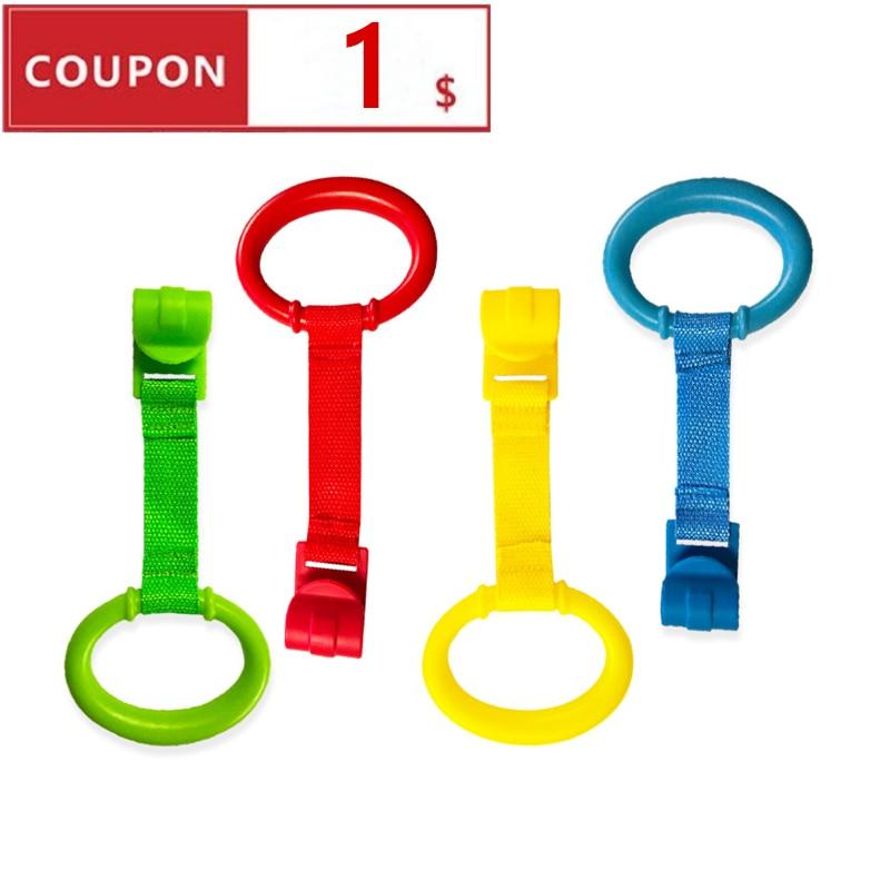 1/4/8pcs Lot  Ring For Playpen  Baby Crib Hooks General Use Hooks Baby Toys Baby Bed Hooks Bed Rings