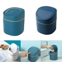 mini desktop trash can home multifunctional car storage bucket accessories with lid garbage bin nordic style living room office