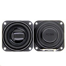 1.5 inch Woofer Speaker For Bluetooth Speaker Home Audio diy 4ohm 3W Deep Bass 40mm Loudspeaker Repair Parts Good Quality 2PCS