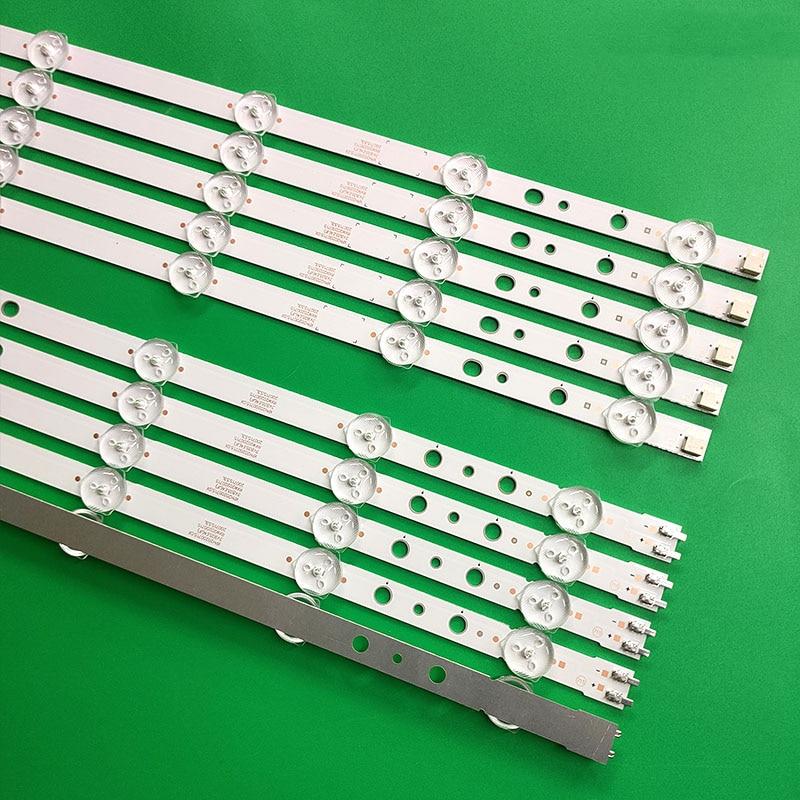 60pcs LED strip for UE55H6273 UE55H6204 UE55H6203 UN55H6203 UN55H6103 UN55H6153 UN55J6200 D3GE-550SMA-R1/D3GE-550SMB-R0 enlarge