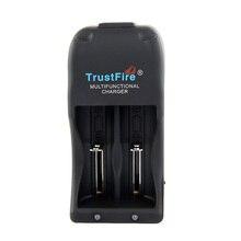 الصمام TrustFire TR006 بطارية قابلة للشحن شاحن 2 فتحات ل ليثيوم أيون IMR LiFePO4 10440 14500 16340 18500 18650 25500 26650 بطاريات