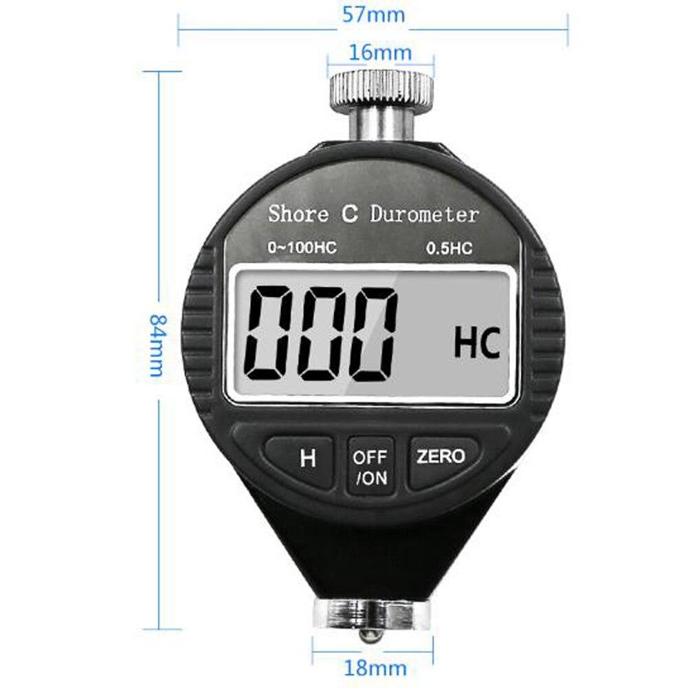 Digital shore durômetro dureza tester meter shore 100ha/c/d para plástico de alta qualidade multi ferramentas acessórios