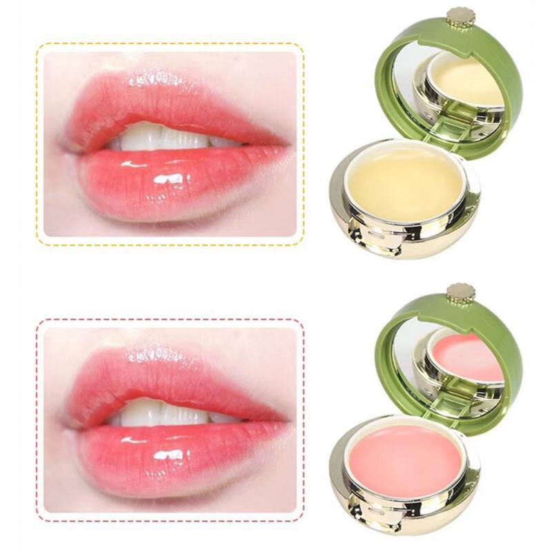 1 Box Avocado Lip Sleeping Mask Lip Balm Cream Plumper Moisturizing Nourishing Repair Fine Lines Anti Ageing Skin Care New TSLM1