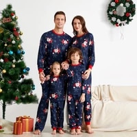 christmas family matching pajamas set family look mother daughter father baby kids sleepwear mommy and me nightwear clothes