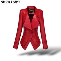 shzq leather womens short coat 2021 new single skin sheep skin autumn and winter slim fit leather jacket down jacket