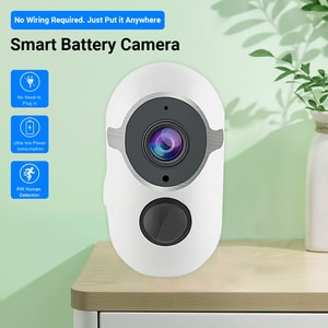WIFI Security Camera 135° Wide Angle Night Vision PIR Motion Detection Two-Way Audio Intercom In/Outdoor Camera For IOS Android