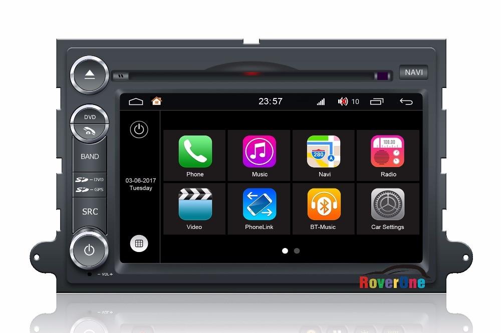 RoverOne For Ford Mercury Mountaineer Mercury Monterey Milan Sable Autoradio Car GPS Glonass Media Center Central Multimedia
