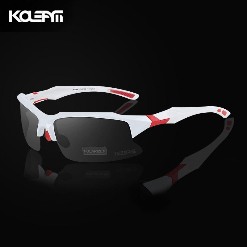 Мужские солнцезащитные очки с защитой от ветра, поляризованные очки для вождения, антибликовые очки TR90, защита от ультрафиолета, для спорта ...