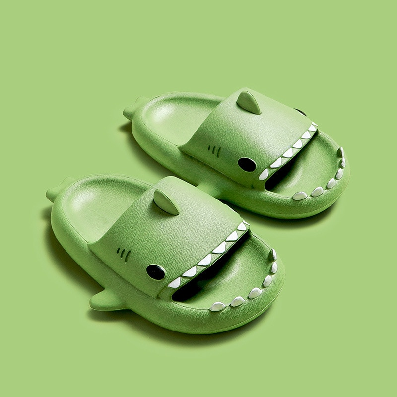 Summer Fashion Fun Shark Slippers Baby Boy Beach Shoes Soft Bottom Non-slip Hole Shoes Baby Girls Toddler Shoes Kids Sandals